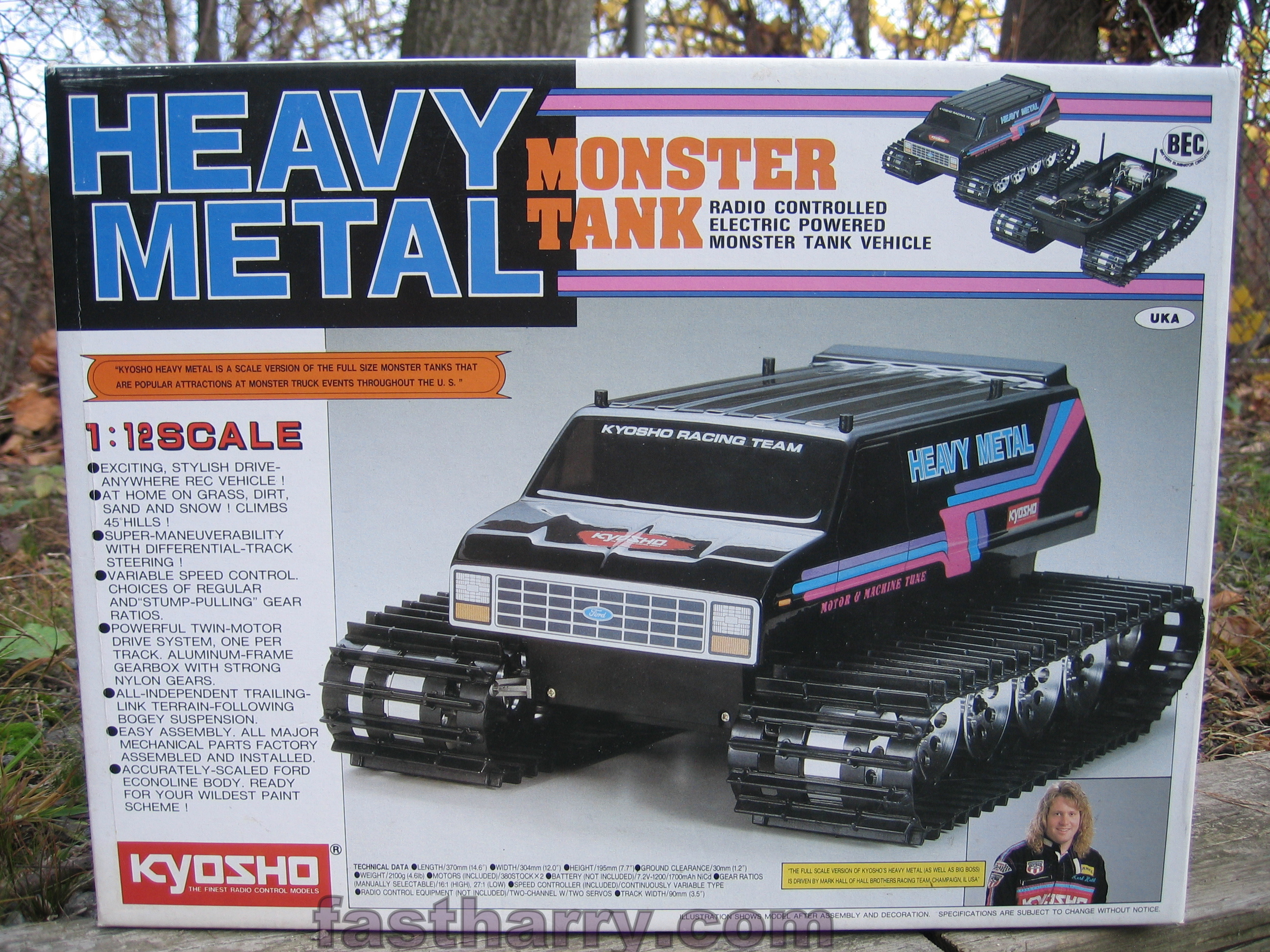 www.fastharry.com Kyosho Heavy Metal Blizzard